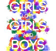 Girls/Girls/Boys - No Logo  by Kate Foye