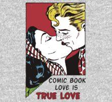 Comic Book Love is True Love Kids Clothes