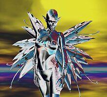 METALLIC ALIEN ELF by Icarusismart