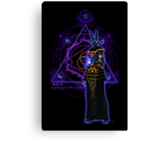 ☼ ☥  Anput, Guardian of Lore ☥ ☾  ~ (Anubis' Feminine Aspect) Canvas Print