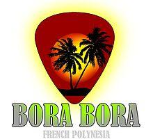 Bora Bora Island by dejava