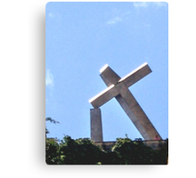 RECIFE BRAZIL THE TILTED CROSS Canvas Print