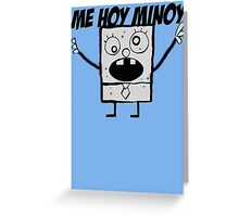 Doodlebob Greeting Card