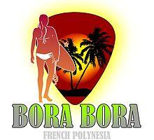Bora Bora Night Party by dejava