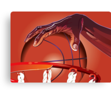 Basketball Slam Dunk Point Print / iPad Case / iPhone 5 Case / T-Shirt / Samsung Galaxy Cases  / Duvet Canvas Print