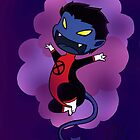Chibi Nightcrawler by Kaleigh Jacobson