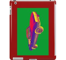 1967 Convertible Camaro Muscle Car Pop Art iPad Case/Skin