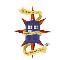 The TARDIS Photographic Print