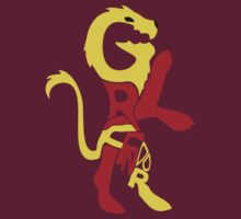 Typographic Gryffindor by NoTHEnd