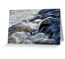 White Water at Ragged Falls, Algonquin Park, ON, Canada Greeting Card