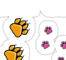 Right to Bear Claws - Color    Sticker
