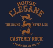 Team Clegane (Gold) Kids Clothes