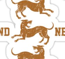 Team Clegane (Gold) Sticker