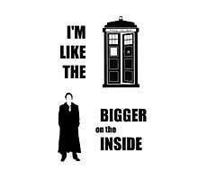 Like the TARDIS - Doctor Who Photographic Print