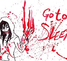 Jeff The Killer: Go To Sleep by KOTMZain