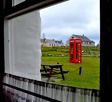 Red Telephone Booth by Aaron McKenzie