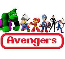 Nintendo Avengers by gamac74