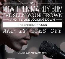 """Arctic Monkeys """"Mardy Bum"""" by Kenzie Cameron"""