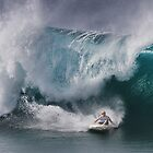 John John Florence At Billabong Pipe Masters In Memory of Andy Irons 2011 by Alex Preiss