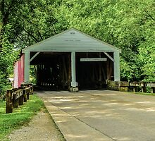 Ramp Creek Covered Bridge by mcstory