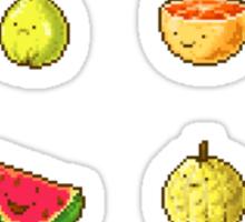 Pixel Fruits Set 1 Sticker