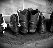 Boots are made for walking by Adrian Kent