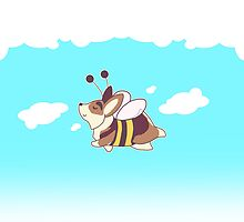 Flying Bee Gus by zerojigoku