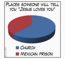 Humor: Jesus Loves You by cartoon