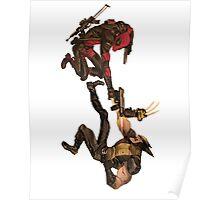 Deadpool vs Wolverine Poster
