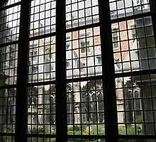 Middleburg Abbey courtyard by Morag Anderson