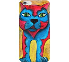 Catius Maximus and the little Blue Bird  iPhone Case/Skin