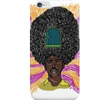 The Mighty Boosh - Rudi van DiSarzio - Rudy - Psychedelic Monk iPhone Case/Skin