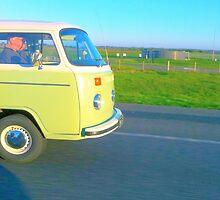 Green Combie Van by ella-rose