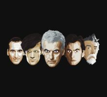 Doctor Who - The Doctors by Chris Singley