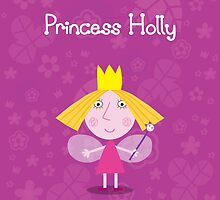 Princess Holly Throw Pillow/Tote Bag by Russ Jericho
