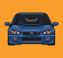 Pixel Cars - Subaru WRX STI by TswizzleEG