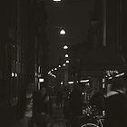 One Night in Ferrara, Italy, B&W by prante