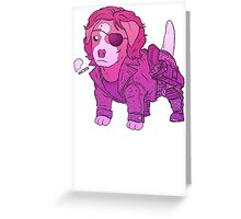 KURT RUSSELL TERRIER - ESCAPE FROM NEW YORK Greeting Card