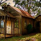 Old church in Newbury Australia by Gerard Rotse