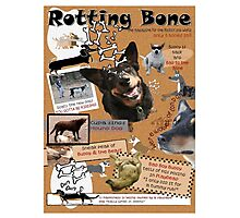 Rotting Bone Magazine Cover Photographic Print