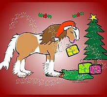 Gypsy Cob Christmas Card 5 by Diana-Lee Saville