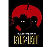 The Adventures of Ryuk & Light Photographic Print