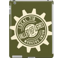 Valley of Ashes Local 718 iPad Case/Skin