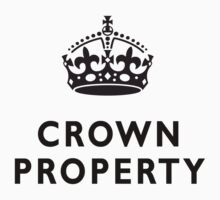 CROWN PROPERTY, BRITISH, UK, ENGLAND by TOM HILL - Designer