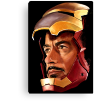 Tony Stark IS Iron Man Canvas Print