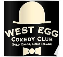 West Egg Comedy Club Poster
