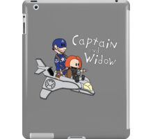 Captain and Widow iPad Case/Skin