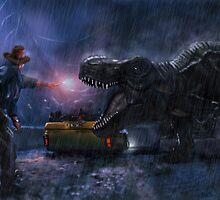 Welcome to Jurassic Park by danielctuck