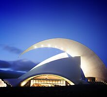 Music Hall in Tenerife island by Atman Victor
