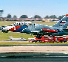 Aero L-39 Atbatros 186 by Colin Smedley